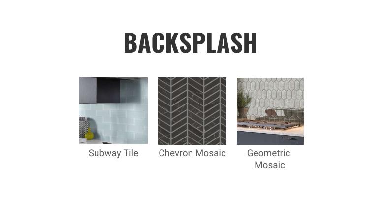 Slab Kitchen Cabinets- Complete the Look – Backsplash