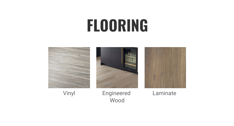 Slab Kitchen Cabinets – Complete the Look – Flooring