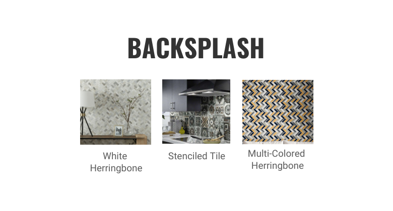 White Kitchen Cabinets- Complete the Look- Backsplash