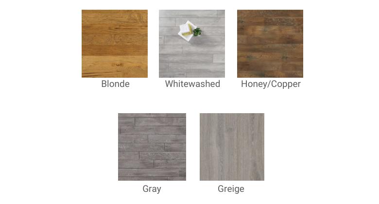 Wood Flooring Colors- Map