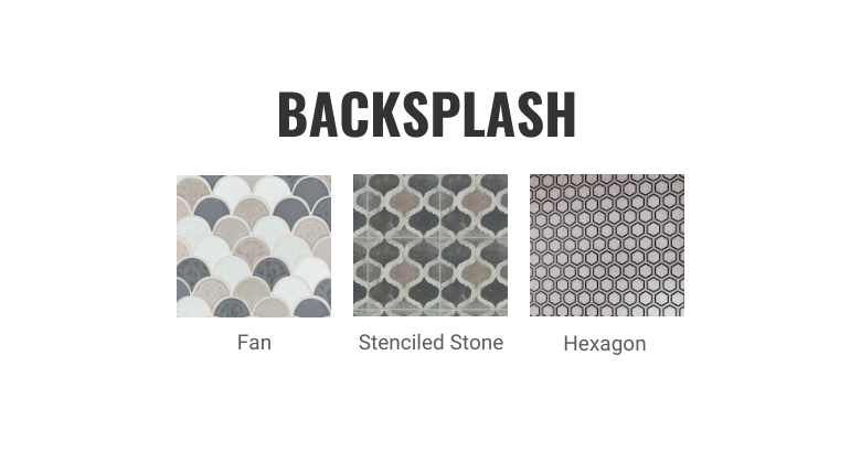 Gray Kitchen Cabinets- Complete the Look- Backsplash