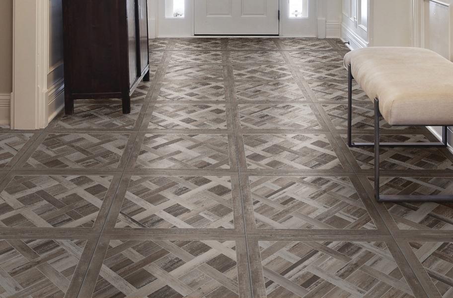 Daltile Cinematic tile flooring in an entryway