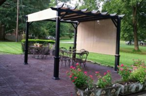 Outdoor Kitchen: Flagstone Rubber Paver