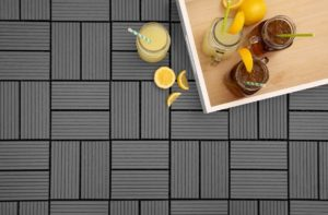 Patio Kitchen Ideas: Helios Composite Deck Tiles- 8 Slat
