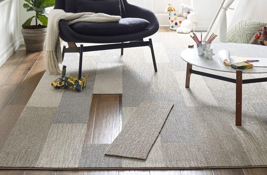 Shaw Floorigami Dynamic Vision Carpet Plank