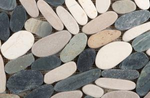 Fire Pit Patio: Emser Tile Venetian Flat Pebble