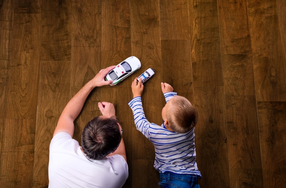 Caring for Scratches: Rio Grande Water Resist Walnut Engineered Wood
