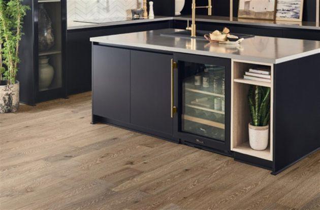 Hardwood flooring cost: 12mm Mannington Park City Oak Engineered Wood