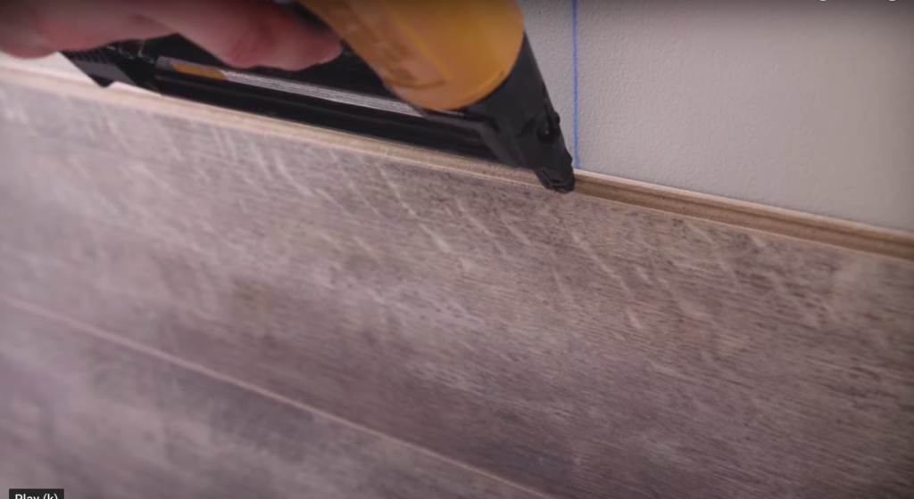 To Install Laminate Flooring On Walls, How To Install Laminate Flooring On Walls