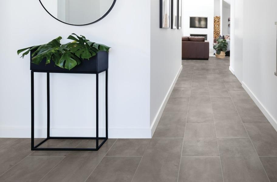 Floating Tile Floors: Daltile RevoTile - Stone Visual