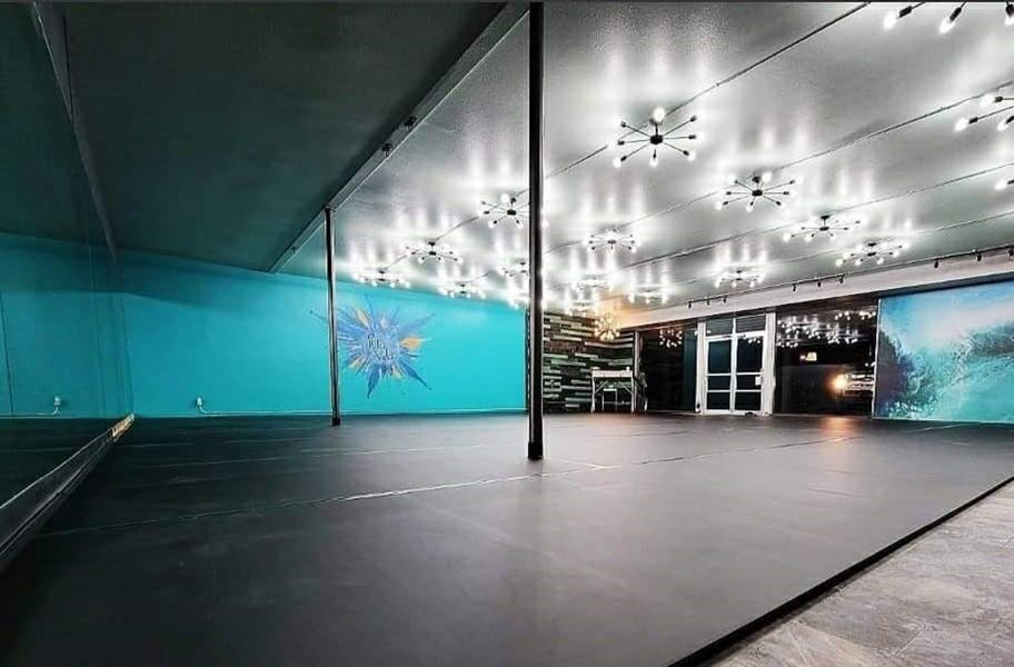 Deep Cleaning Dance Flooring: Rosco Adagio Tour Rolls - Custom Cut