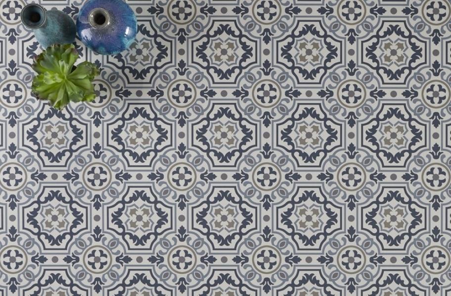 Patterned Bedroom Flooring: Mannington Benchmark 12' Vinyl Sheet