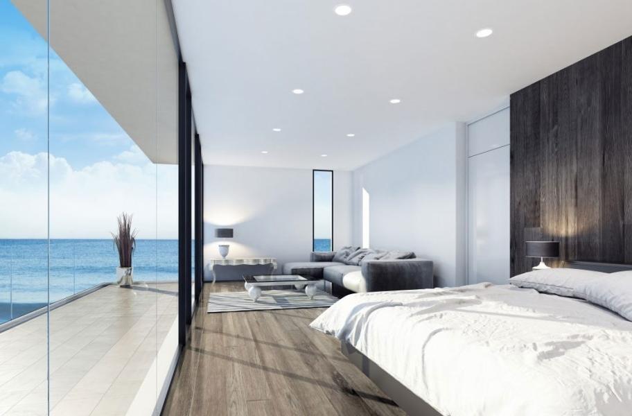 Wood Bedroom Flooring: Toscana Hickory Engineered Hardwood