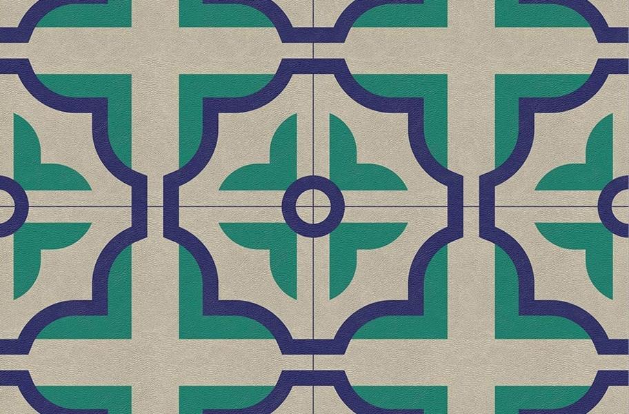 Vinyl Planks and Tiles: Margo Flex Tiles- Modern Mosaics