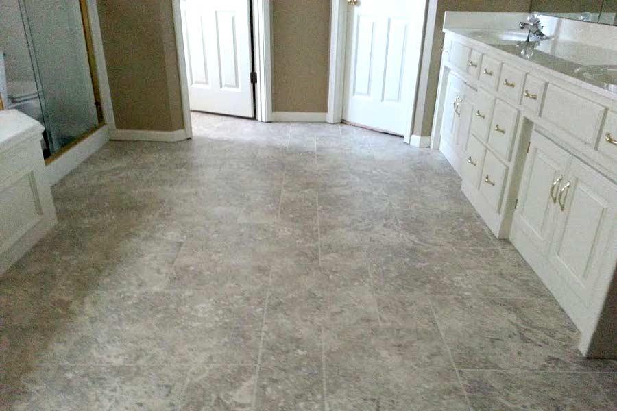 Customer reviews shaw resort versailles vinyl tiles for Happy floors tile reviews